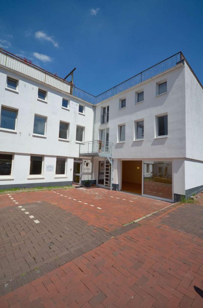 Raumvermietung - Hofansicht Zentrum für Gesundheit Osnabrück